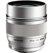 OLYMPUS ET-M7518 75mm 1:1.8 Silver